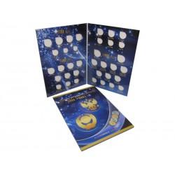 Альбом-планшет под монеты регулярного выпуска 1991-1993 гг.